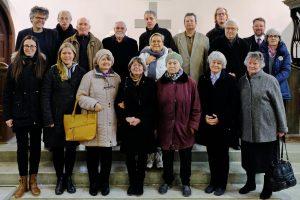 Mitglieder der Gemeindevertretung nach der Wahl in der Johanniskirche, November 2019